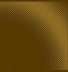 brown abstract simple halftone circle pattern vector image