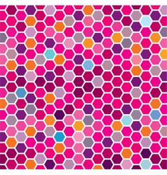 Colorful grid vector image