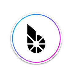 Cryptocurrency coin bitshares bts icon on white vector