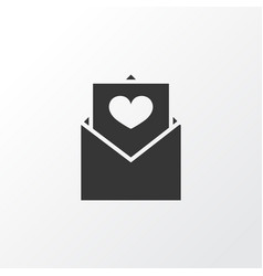 envelope icon symbol premium quality isolated vector image