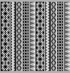 ethnic geometric motifs background vector image