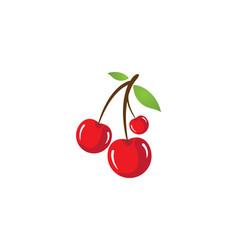 fresh fruit icon design template vector image