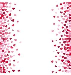 Lovely romance valentine white background vector