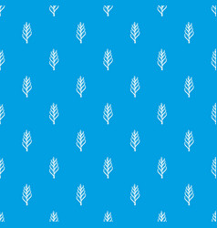 one spica pattern seamless blue vector image