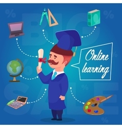 Online learning character concept vector