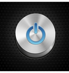 power button vector image