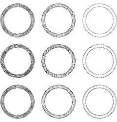 Ring Shape Set vector
