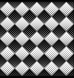 seamless monochrome geometrical diagonal square vector image