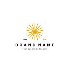 Spark logo design vector