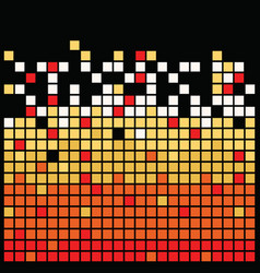 squares texture black vector image