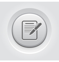 Summary Icon Business Concept vector image