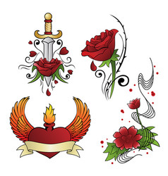 tattoo designs vector image