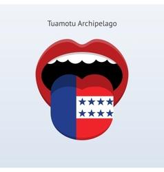 Tuamotu Archipelago language vector