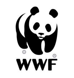 World wildlife fund wwf logo vector