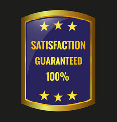 Satisfaction guarantee label vector