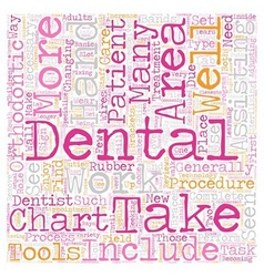 Dental assistants in orthodontics 1 text vector