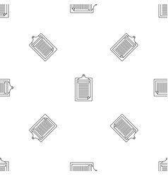 Check paper tax pattern seamless vector