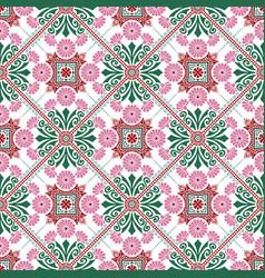 Decorative tile pattern design vector