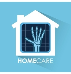 Home care design vector