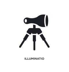 Illuminatio isolated icon simple element from vector