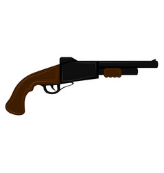isolated antique weapon icon vector image