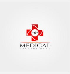 Medical icon template creative logo design element vector