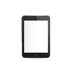 mobile or smart phone blank screen mockup vector image