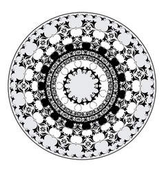 Oriental pattern and ornaments 06 vector image
