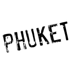 Phuket stamp rubber grunge vector image