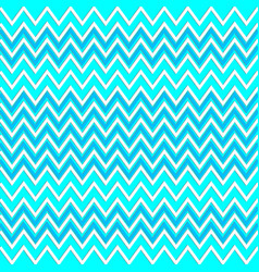 zigzag seamless pattern light blue vector image