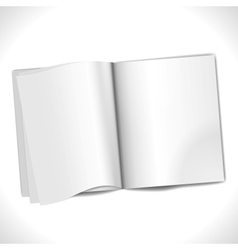 Blank Page vector image