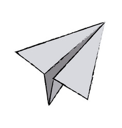 Paper airplane business success motivation image vector