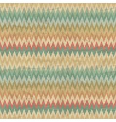 Seamless retro geometric pattern vector image vector image