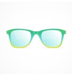 glasses color vector image