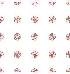 Arrow up icon pattern seamless white background vector