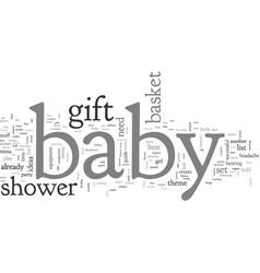 Babyshower vector