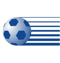 Ball soccer symbol vector