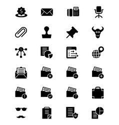 Finance Solid Icons 8 vector