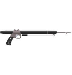 Harpoon spear gun for fishing isolated vector