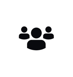 isolated people icon group element can be vector image