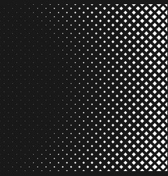 monochrome abstractal halftone square pattern vector image