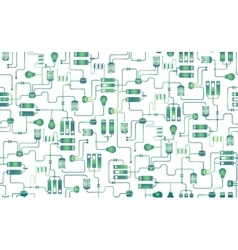 Seamless background electrical scheme vector