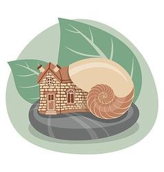 Snail House vector
