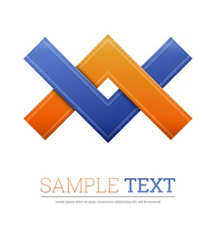 Abstract shape Corporate icon vector image