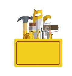 Construction tools kit vector