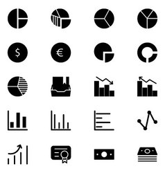 Finance Solid Icons 11 vector