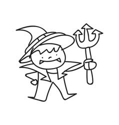 Halloween cartoon vector