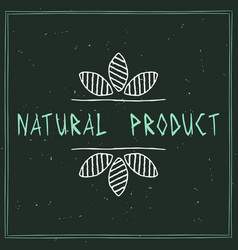 natural product vector image