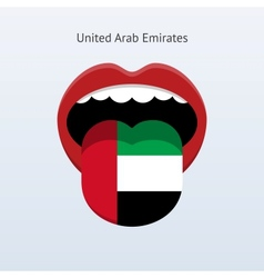 United Arab Emirates language vector