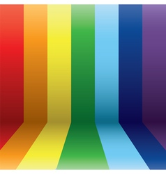 Vertical rainbow vector